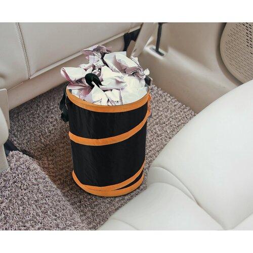 Compass Skládací odpadkový koš Orange, 14 l