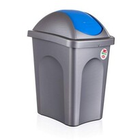 Coș de gunoi Multipat 30 l, albastru