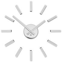 Future Time FT9400WH Modular white Dizájner öntapadó óra, átmérő: 40 cm