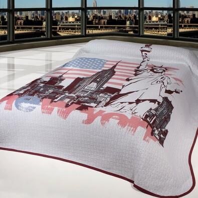 Přehoz na postel New York, 240 x 260 cm