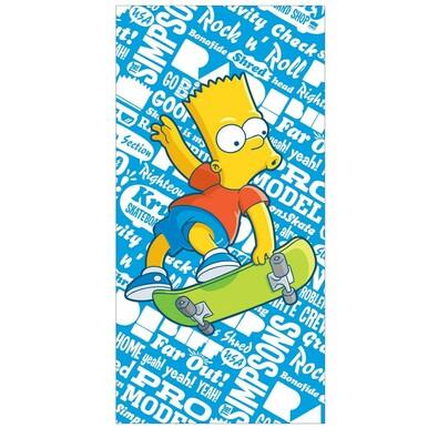 Osuška The Simpsons Bart, 75 x 150 cm