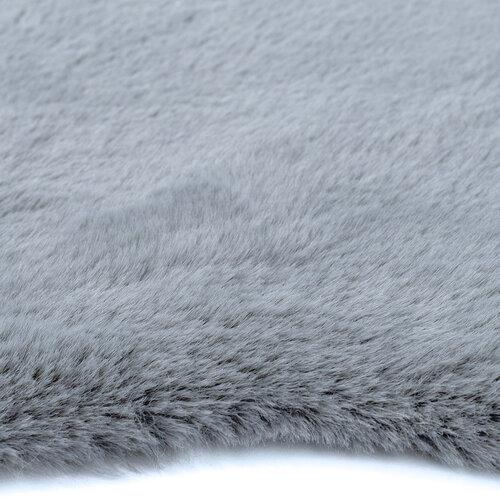 Kožušina Catrin sivá, 60 x 90 cm