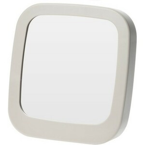 Zrcadlo Piazza šedá, 18,5 x 19,5 cm
