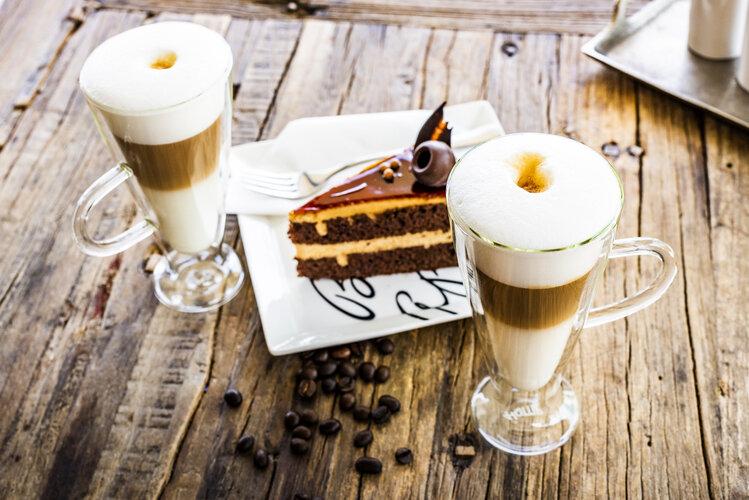 4home Termo pohár Latte Elegante Hot&Cool 230 ml, 2 ks