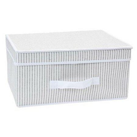 Úložný box s víkem 39 x 29 x 19 cm