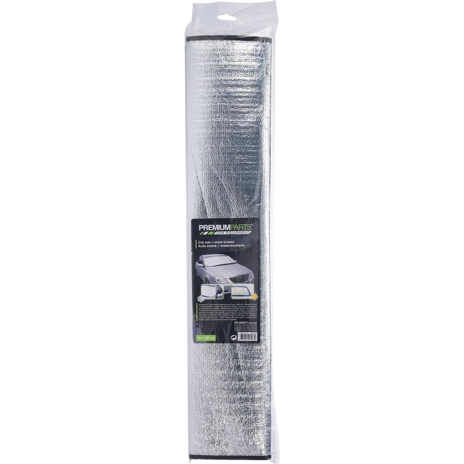 Autofólie proti námraze stříbrná, 150 x 70 cm