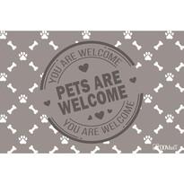 Domarex Wycieraczka LiveLaugh Pets, 40 x 60 cm
