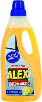 Alex Lemon mýdlový čistič na lino a dlažbu 750 ml