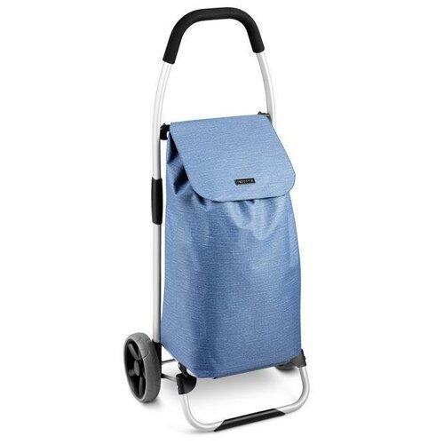 Tescoma Nákupná taška na kolieskach SHOP!, modrá