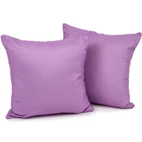 4Home Povlak na polštářek fialová, 2 ks 40 x 40 cm