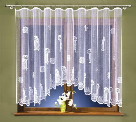 Žakárová záclona Marie, 400 x 160 cm