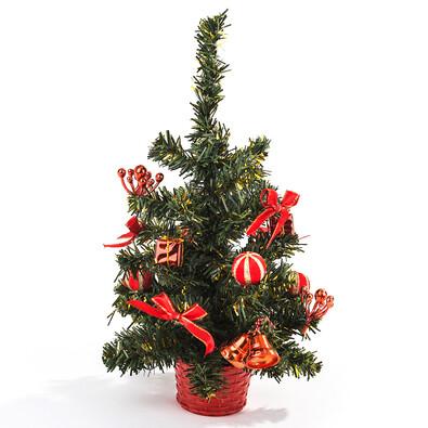 Vánoční stromeček zdobený