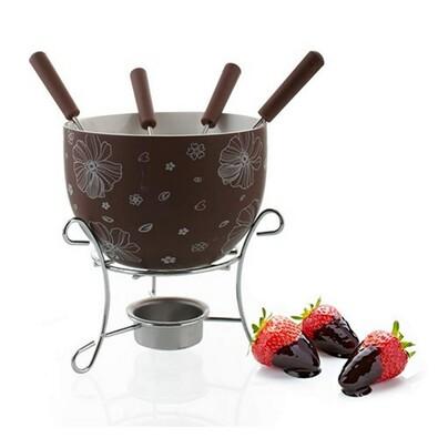 Banquet Choco Blossoms 6-dílný fondue set