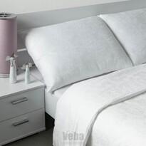 Veba Lenjerie de pat din damasc Geon Bule, albă