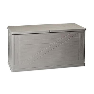 Wood zahradní úložný box 420 l šedá