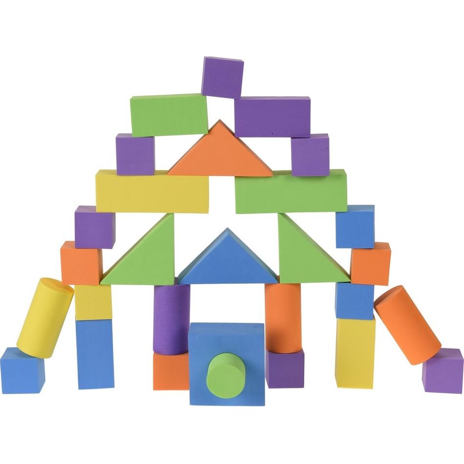 Dětská stavebnice Eva, 30 ks