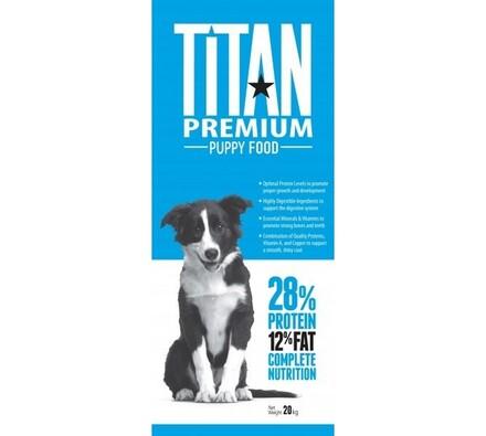 Titan premium krmivo pro štěňata, 20kg