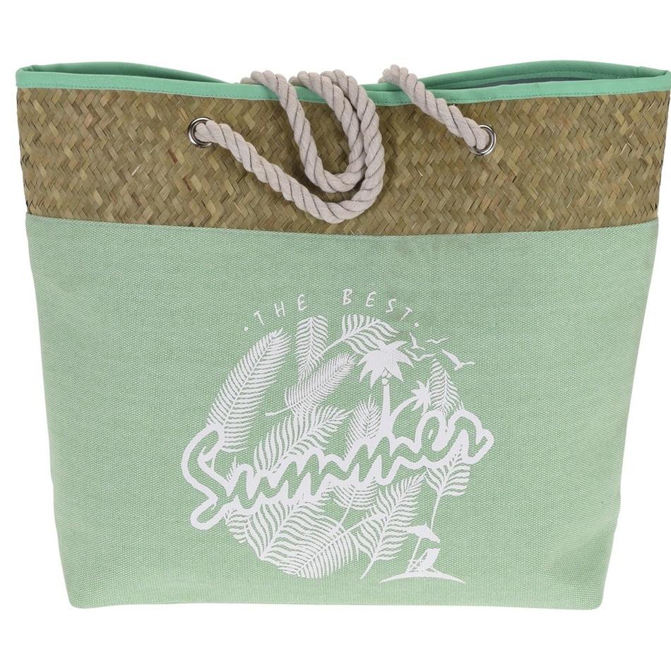 Koopman Plážová taška The best summer, zelená