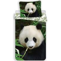 Jerry Fabrics Dziecięca pościel bawełniana Panda 02, 140 x 200 cm, 70 x 90 cm