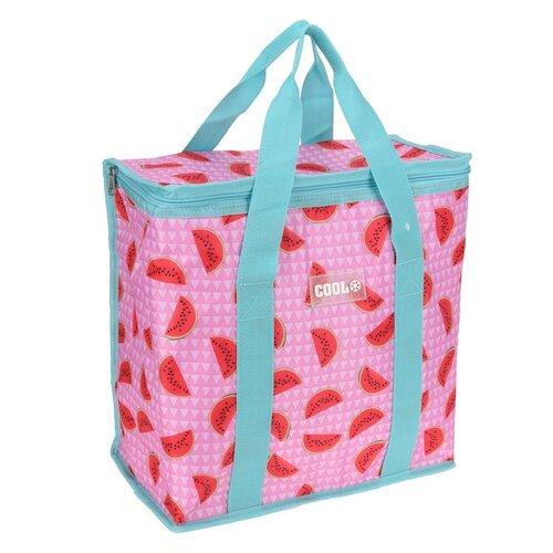 Koopman Chladici taška Fruity růžová, 34 x 16,5 x 36 cm
