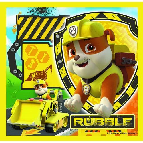Trefl Puzzle Labková patrola Marshall, Rubble a Chase, 3 ks