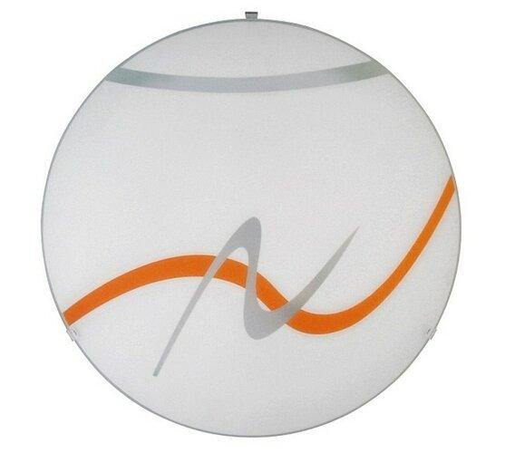 Stropné svietidlo Rabalux 1816 Solo/biela-oranžová