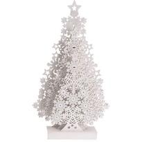 Koopman Vánoční dekorace Tree with Snowflakes, 48 cm