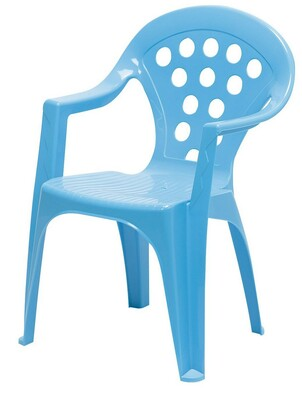 Dětská židle modrá