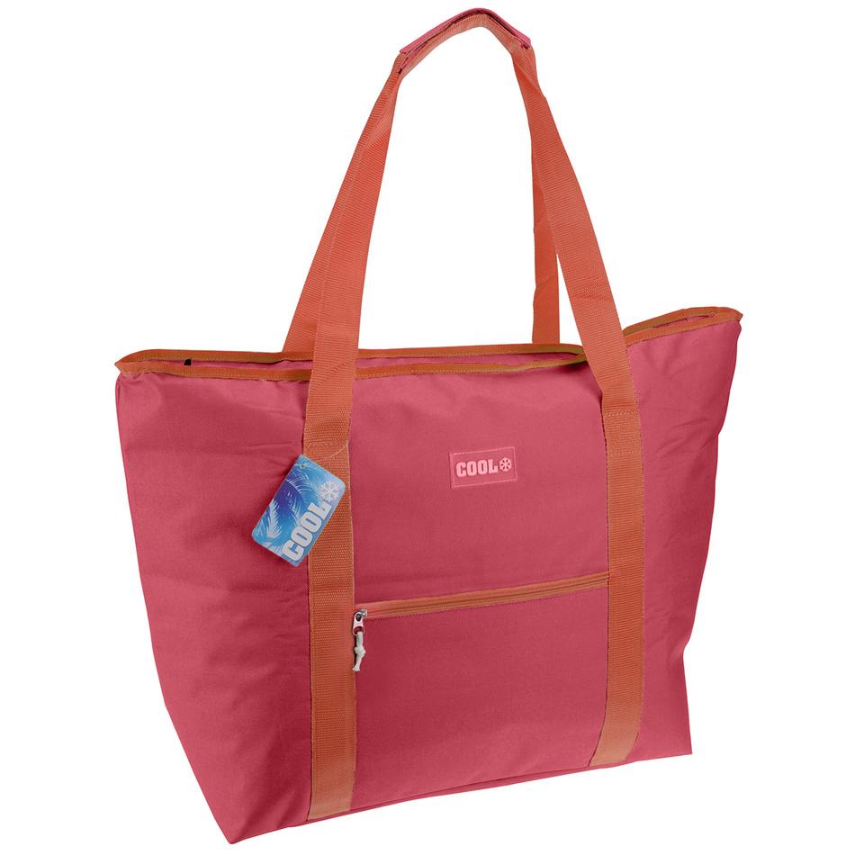 Chladící taška 45 l, červená