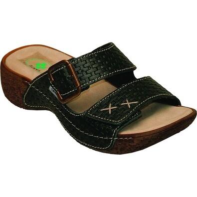 Dámské zdravotní pantofle Santé, černé, 39