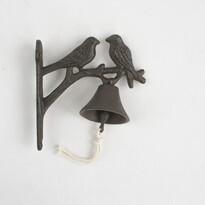 Liatinový zvonček Vtáčiky, 18,5 cm