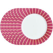 Luminarc Sada plytkých tanierov Astre Bordeaux 26 cm, 6 ks