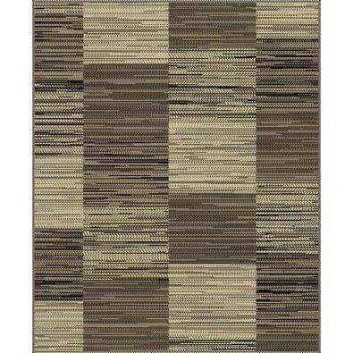 Habitat Kusový koberec Monaco kocka 6310/2213 hnedá, 70 x 240 cm
