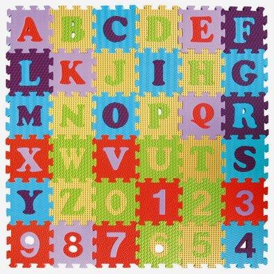 Baby Great Penové puzzle Číslice a písmená SX (15x15)
