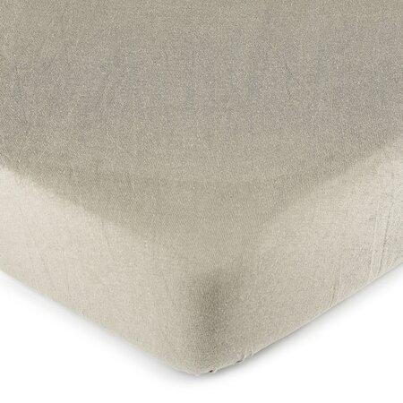 4Home jersey prostěradlo šedá, 90 x 200 cm