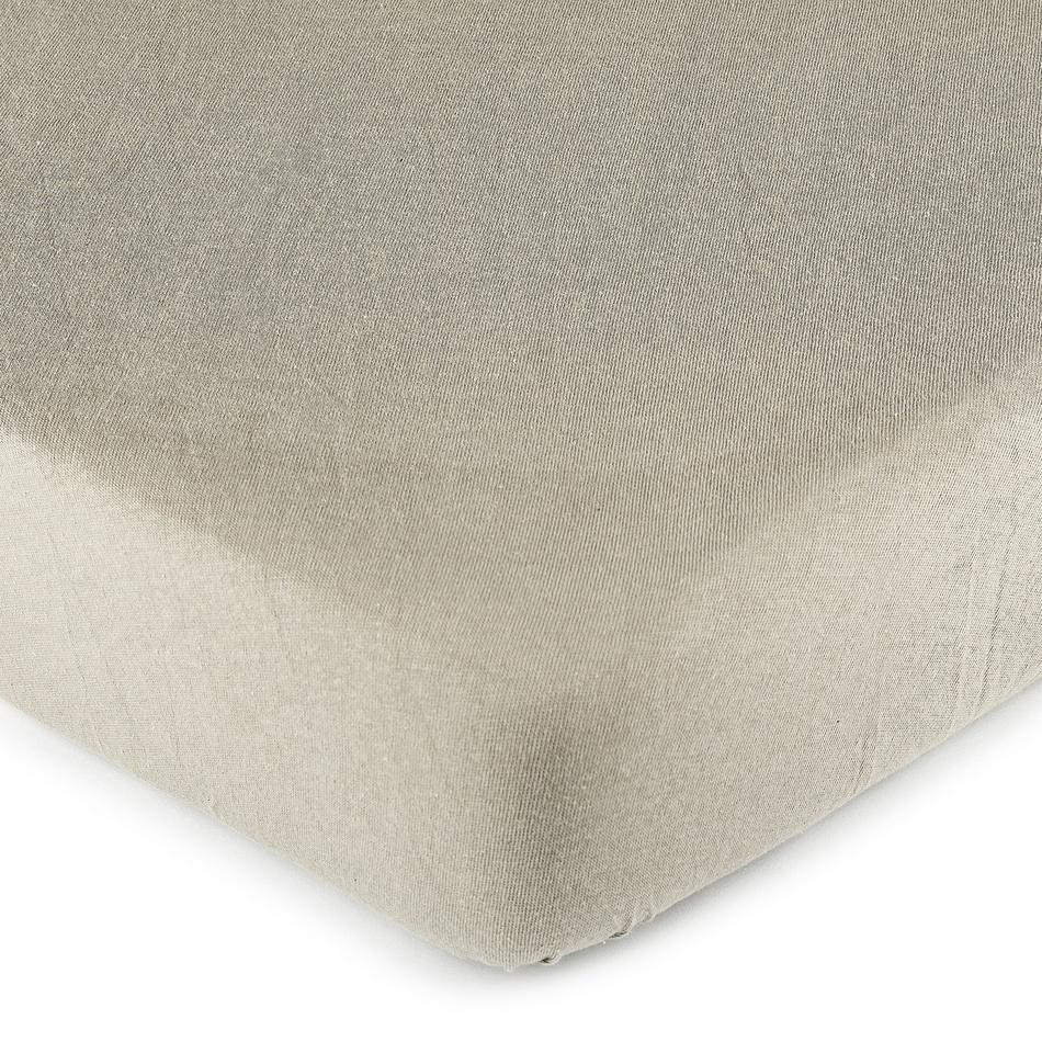 Fotografie 4Home jersey prostěradlo šedá, 90 x 200 cm