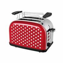 Prăjitor de pâine Kalorik TO 1045 RWD Dots, roșu