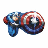 Tvarovaný vankúšik Avengers, 34 x 30 cm