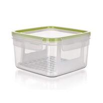Pojemnik na żywność SUPER CLICK 1,2 l, zielony