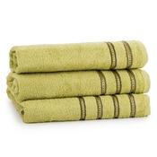 Dárkový set ručníků Nicola olivová, sada 3 ks