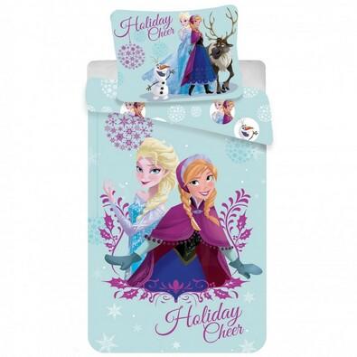 Dětské bavlněné povlečení Ledové království Frozen 2016, 140 x 200 cm, 70 x 90 cm
