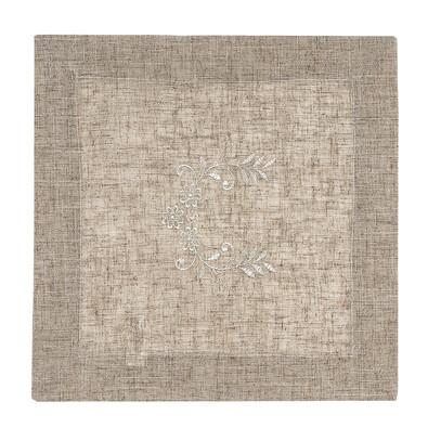 Vyšívaný ubrus Folk, 35 x 35 cm