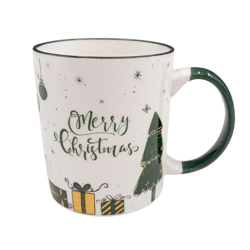 Altom Porcelánový hrnček Merry Christmas gifts 330 ml