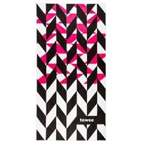 Ręcznik sportowy DYNAMICA pink, 50 x 100 cm