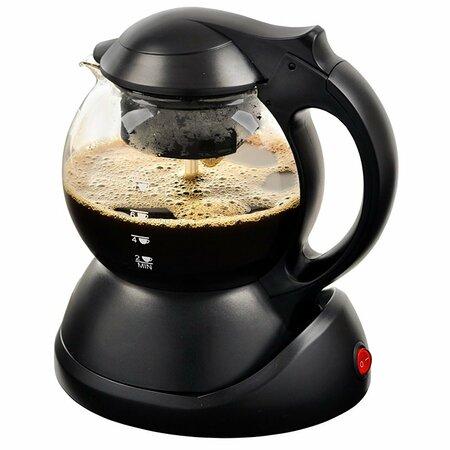 Kalorik TKB 1023 Zaparzacz do kawy i herbaty/czajnik bezprzewodowy 3w1, 1 l