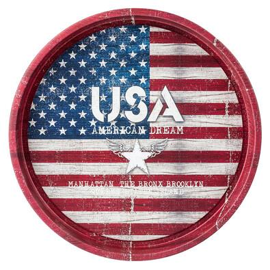 USA servírovací podnos 33 cm