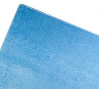 Obdelníkový koberec Eton, modrá, 57 x 120 cm