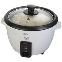 ECG RZ 060 ryžovar, 0,6 l, biela