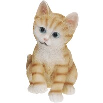 Koopman Dekoracja ogrodowa Kot, brązowa