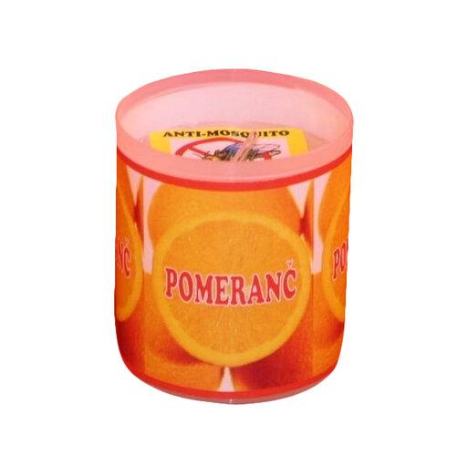 Repelentná sviečka s vôňou pomaranča